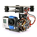 Carbon Fiber Gimbal Brushless Camera Mount + Motor for GO PRO DJI Phantom