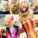 Горячий продавать Оптовая Модное Клип на наращивание волос Staright 20-дюймовый желтый для красоты