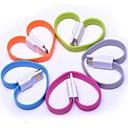Красочный магнит 8 Pin для USB кабель синхронизации данных для iPhone 5 / 5S / 5C, Ipad Mini / Air / 4 (Random Color)