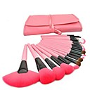 24 Pcs Professional Pink Make-up Brush Set