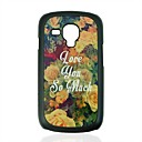 Flowers Pattern Hard Case for Samsung Galaxy S3 mini I8190