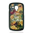 Flowers Pattern Hard Case for Samsung Galaxy S3 mini I8190