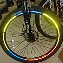 YELVQI Bike Bicycle Reflective Stickers