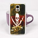 Beautiful Skeleton Pattern PC Back Case for Samsung S5/I9600