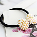Bowknot Style Elastic Hair Rubber Band Ponytail Holder For Women