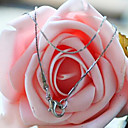 Fashion Silver 0.8mm DIY Material Necklace(1 Pc)