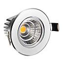 5W COB 320-350 LM Warm White Recessed Retrofit LED Ceiling Lights AC 85-265 V