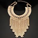 Мода позолоченным Женщины кисточкой себе ожерелье (1шт)