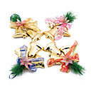 Рождественские украшения Рождественские Белл, пластиковые Случайные Тип