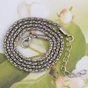 Кукуруза-Shaped сплава Кулон Аксессуары ожерелье серебро (1Pc)