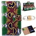 High-End змеиной зерна шаблон PU кожаный чехол для всего тела и кабель для Sony Xperia Z2 D6503