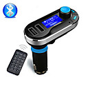 Беспроводные громкой Bluetooth Car Kit FM-передатчик MP3-плеер с Dual USB зарядное 2.1A, поддержка USB / SD / Aux в
