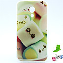 Шаблон Cotton Candy ТПУ Мягкий чехол с Anti-Dust Разъем и ПОВ по Motorola MOTO G2