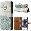 Корона шаблон PU кожаный чехол для тела Полное с подставкой и карты держатель для iPhone 6