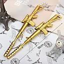 Пулемет Стиль гелевая ручка (случайный цвет)