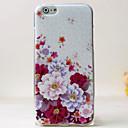 Новая мода 3D красоты цветок Красочные Тотем мультфильм чехол для iPhone 4S
