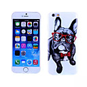 Очки Собака шаблон ТПУ И IMD мягкий чехол для iPhone 6
