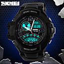 SKMEI Men's Tough Design Sport Watch Analog-Digital Dual Time Zones/Calendar/Chronograph/Alarm