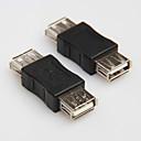 USB 2.0 Type A для Женский Женский шнура Cable муфта адаптер конвертер Connector Changer Extender переходником