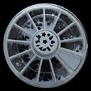 W102 300pcs / Set Лук Сердце форму звезды Черный цвет акриловые Nail Art колеса Набор для Rhinestone DIY Nail Decor Телефон