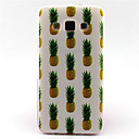 Pineapple  Pattern TPU Painted Soft Back Cover for Galaxy A3 /A5