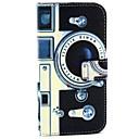 Ретро шаблон камеры PU кожаный чехол с карты деньги карты держатель для Galaxy S6 / S6 краю / S5 / S4 / S3