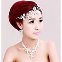 Свадебный ожерелье Кристалл ювелирных изделий невесты Три Наборы Серьги Ожерелье