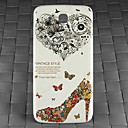 Drill and Butterfly Heels Pattern PC Back Cover Case for Samsung Galaxy Mega I9152