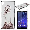 Мода цветной рисунок мобильный телефон оболочки ПК для Sony Z1 / Z3 / Z3mini