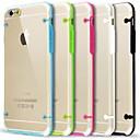 Ультра прозрачная свечение в темных чехол для iPhone 6 (Случайные цвета)