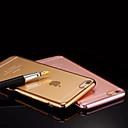 выделить Ультра-Через Позолоченный качества ТПУ сотовый телефон случае для iPhone 6 / 6S (разных цветов)