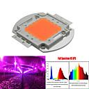 100W 50 * 2W geführt wird, wachsen volles Spektrum integriert wachsen LED-Chipabdeckung 380 nm ~ 840 nm am besten für Hydroponik /