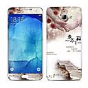 High Definition Антирадиационный мультфильм Цветная рисунок или узор Наклейка для Samsung Galaxy A8