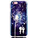 Поцелуй синий шаблон лазерного Вернуться ТПУ Мобильный телефон защиты оболочки для iPhone 6 / 6S