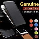 Genuine Leather Flip Full Body Case For iPhone 7 7 Plus 6s 6 Plus SE 5s 5