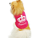 Dog Shirt / T-Shirt Rose Summer / Spring/Fall Tiaras & Crowns