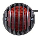 universell motorsykkel brems hale blinklys tenne lisens plate lys svart