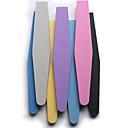 2pcs herramientas del clavo del clavo de la esponja de la frotación de color al azar