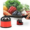 Household Kitchen With Sucker Knife Tools Knife Grinder Stone Chuck Positioning Sharpener Random Color