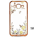 Secret Garden Series TPU Phone Shell Plating for Samsung Galaxy J5/J7/J510/J710