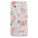 TPU Material Peony Painted Pattern Soft Phone Case for Asus ZenFone Max ZC550KL