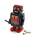 Novelty Toy / puzzel Toy / educatief speelgoed / Opwindspeelgoed Novelty Toy / / Vierkant / Krijger / Robot Metaal Zwart FadeVoor