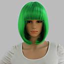 kurze Perücken neue synthetische bob Perücken kurze gerade Highlight Haare Apfelgrün bobo-Perücke für Frauen glamourösen Mode