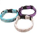 Hunde Halsbänder Regolabile/Einziehbar Leopard Mehrfarbig Nylon