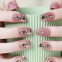 a noiva manicure linda correção de unhas terminou falsos vermelho unhas unhas