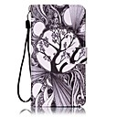 For Sony Case Wallet / Card Holder / with Stand / Pattern Case Full Body Case Tree Hard PU Leather Sony Sony Xperia XA / Sony Xperia E5