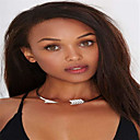 Women's Choker Necklaces Jewelry Taper Shape Eagle Alloy Euramerican Fashion Personalized Statement Jewelry Jewelry ForParty Special