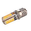 3W E17 Żarówki LED bi-pin T 40 SMD 5730 200-300 lm Ciepła biel Zimna biel Dekoracyjna AC110 AC220 V 1 sztuka