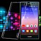 transparente harte pc und Anti-Staub-Steckergehäuse für Huawei Ascend p7