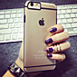 For iPhone 5 Case Transparent Case Back Cover Case Lines / Waves Soft Silicone iPhone SE/5s/5